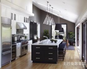 110平米两室两厅开放式厨房吊顶装修效果图