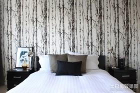 60平米小户型装修效果图 现代风格卧室