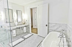 80平米小户型卫生间装修效果图欣赏