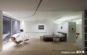 纽约复式楼卧室装修效果图大全2013图片