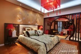 三室两厅两卫婚房卧室装修效果图