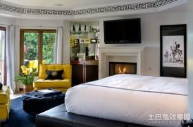 东南亚室内装修风格 卧室图片