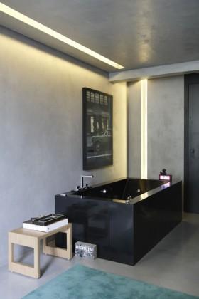 现代卫生间浴室浴缸装修效果图大全