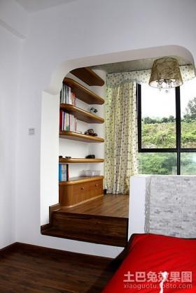 榻榻米卧室设计效果图
