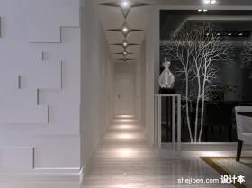 两室一厅装修图 进门玄关走廊吊顶装修效果图