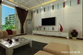 二室二厅装修效果图客厅装修效果图