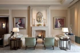 一室一厅装修效果图欧式客厅装修效果图