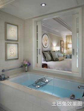 一居室卫生间一室一厅装修效果图小卫生间装修效果图