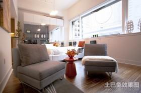 现代房屋装修休闲区图片