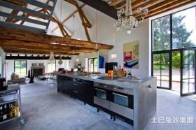 复式房子装修 厨房装修效果图大全2013图片
