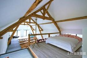 复式房子装修小卧室装修效果图大全2013图片