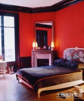 2室2厅装修效果图婚房卧室装修效果图