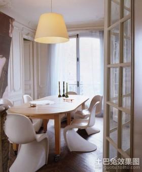 2室2厅装修效果图欧式餐厅