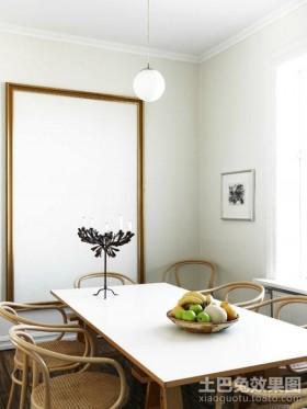50平米小户型装修小餐厅装修效果图