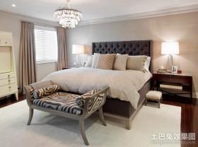 三室两厅两卫装修最新卧室装修效果图