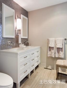 三室两厅两卫装修长方形卫生间装修效果图