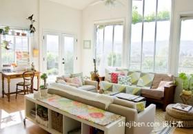 80平米小户型装修温馨客厅装修效果图