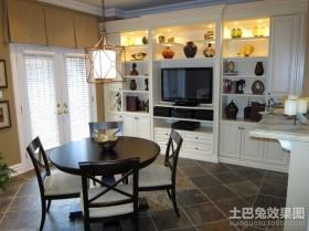 60平米小户型装修客厅餐厅装修效果图