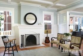 二居室装修效果图欧式客厅装修效果图