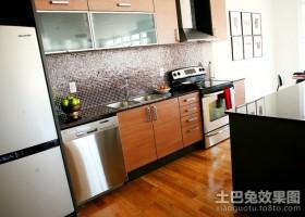 80平米小户型装修现代厨房装修效果图