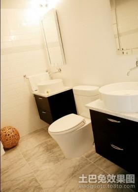 80平米小户型装修厕所装修效果图