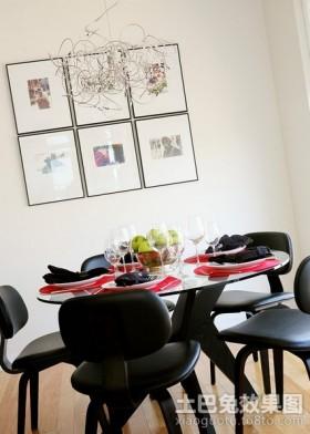 80平米小户型装修现代餐厅装修效果图