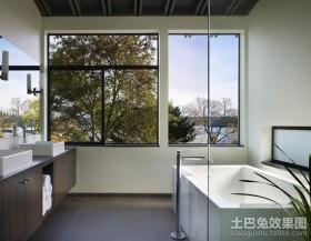别墅装修风格现代卫生间装修效果图