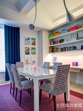 家装最新书房装修效果图