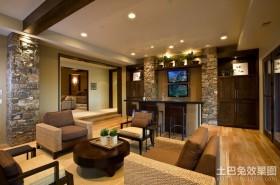 美式田园家居客厅图片
