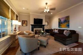 美式设计风格客厅图片