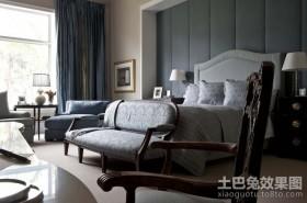 纯欧式装修卧室背景墙