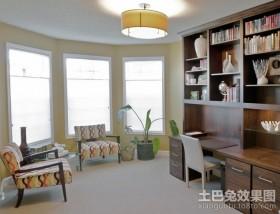 三室二厅装修效果图家居书房