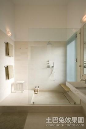 两房一厅装修效果图卫生间