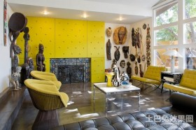 70平米小户型装修现代风格客厅背景墙