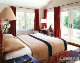 120平米欧式婚房卧室装修效果图