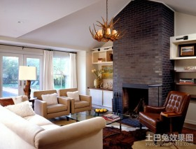 120平米欧式客厅装修效果图