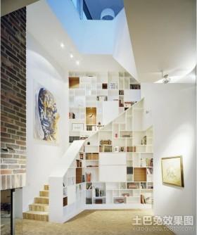 挑空复式楼装修效果图图片