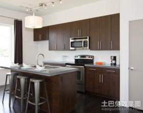 二室二厅装修效果图半开放式厨房