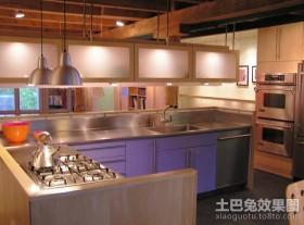 复式楼2012开放式厨房装修效果图