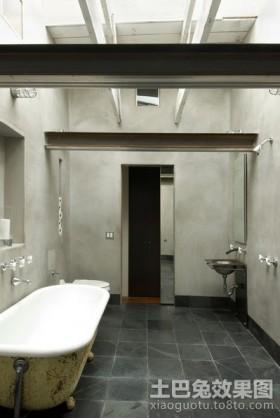两室一厅装修效果图 长方形卫生间装修图