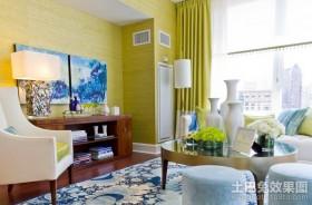 童话田园的时尚家居客厅装修效果图