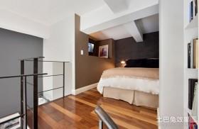 简约卧室室内装潢设计效果图