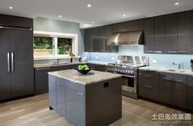 现代风格厨房装修效果图 现代装修风格整体橱柜