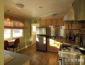 田园风格厨房装修图片 田园风格装修整体橱柜案例