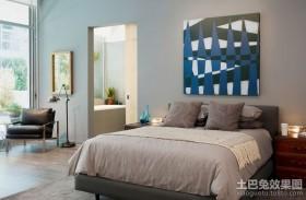 现代简约风格装修图片 简约风格装修效果图卧室图片