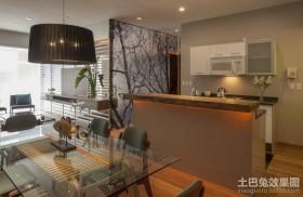 现代简装两室一厅效果图