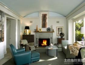 美式装修风格效果图 美式客厅装修效果图