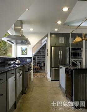 美式装修风格效果图 美式厨房装修效果图