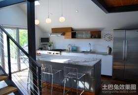 小复式楼装修效果图 复式楼厨房装修效果图