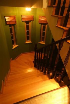 小复式楼梯装修效果图 复式楼装修样板间